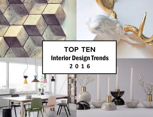 Interior Design 2016: scopri tutte le tendenze